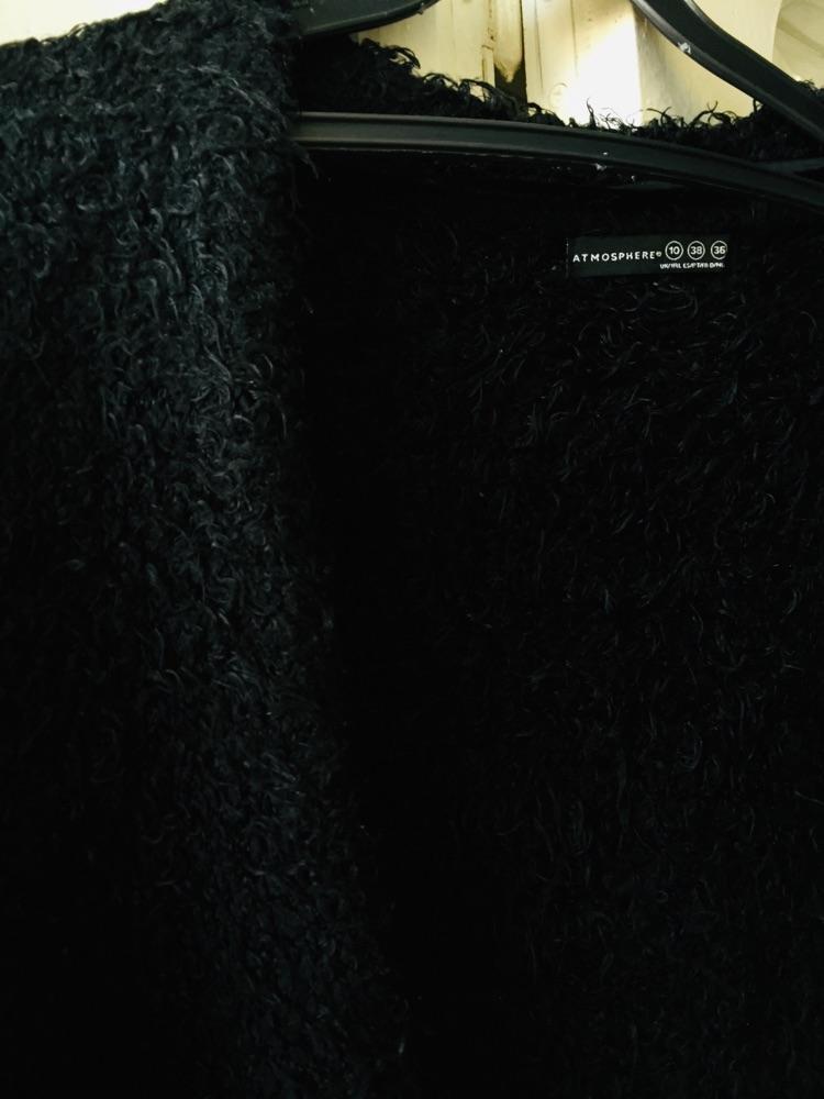 Gilet noir long
