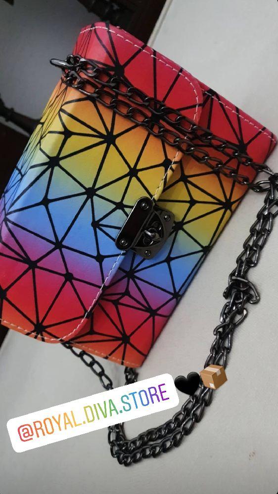 Sac à bandouliére multicolores
