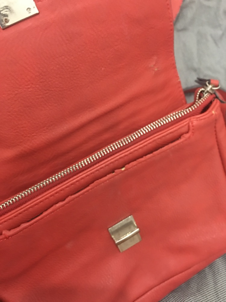 Sac a bandouliere rouge