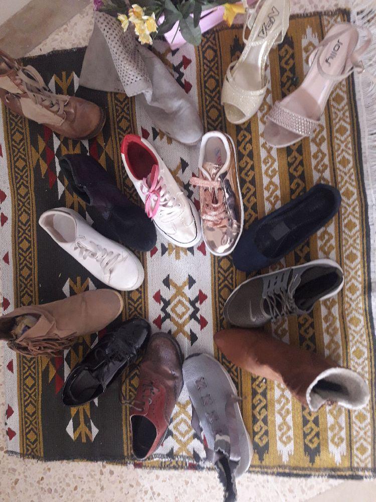 Des espadrilles et chaussures