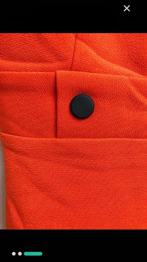 Robe rouge tres tendance