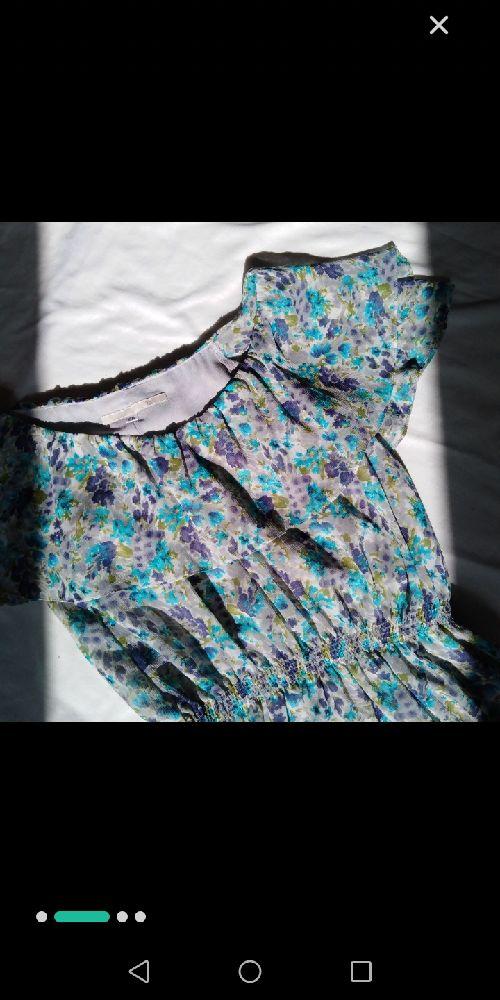 Très belle robe florale avec doublure