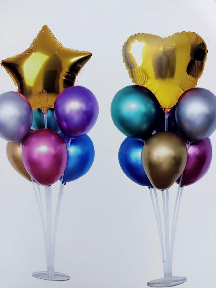 Support + 7 ballon