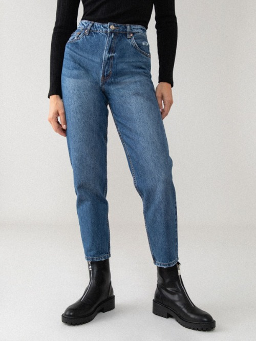 Mom jeans taille 38/40