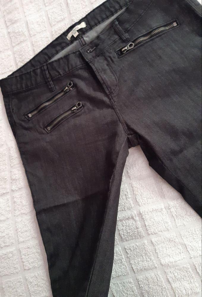 Patalon jean gris foncé