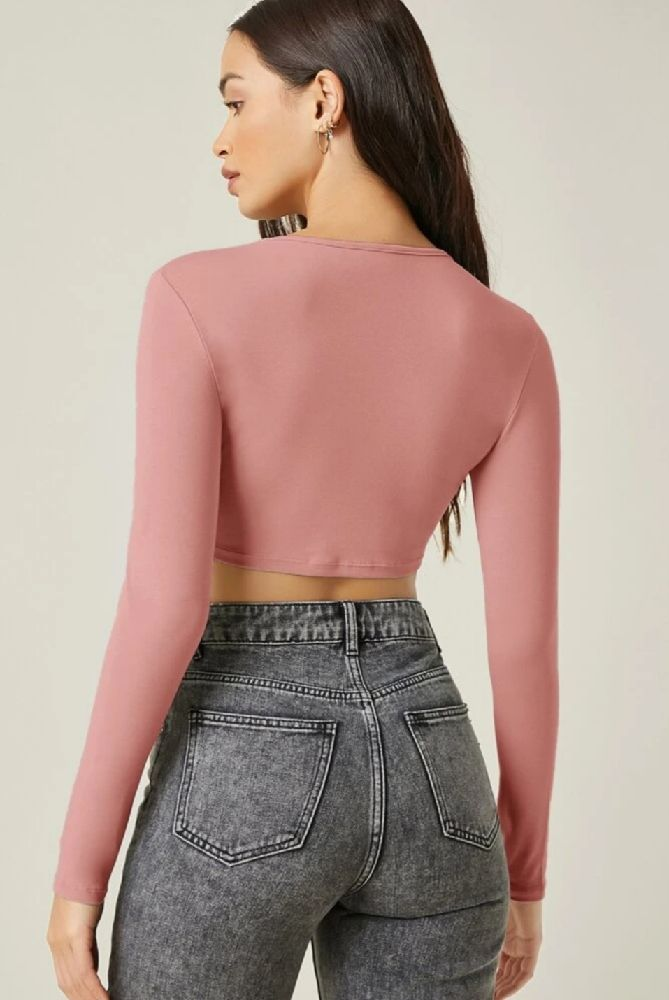 crop top Bershka