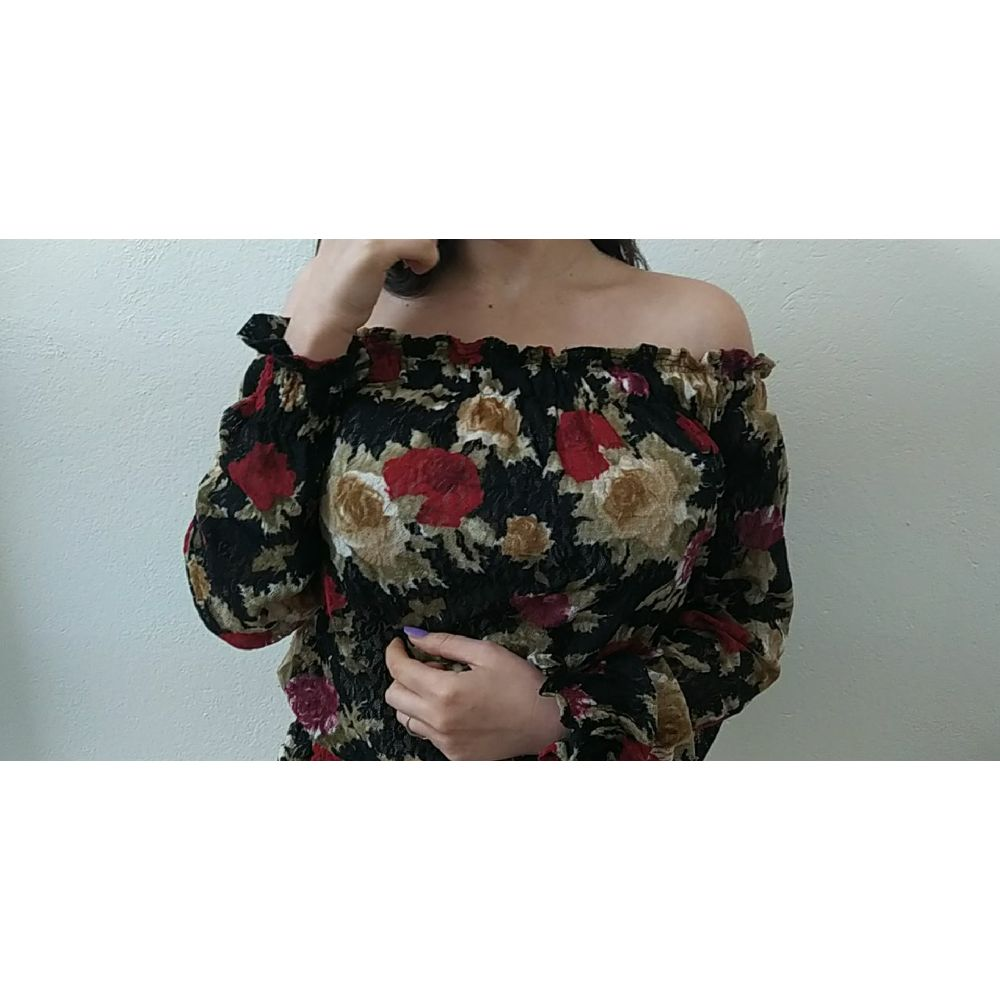 Top fleuri