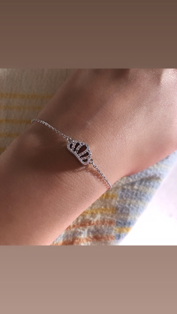 Bracelet en argent 925 très fine