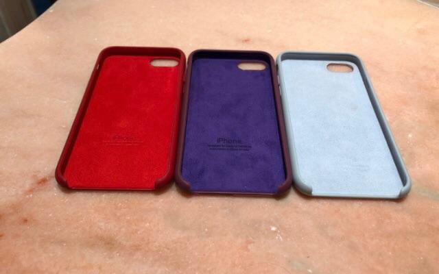 Cases en silicone pour IPhone 7 ou 8