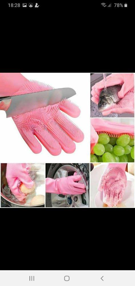 Gants lave-vaisselle