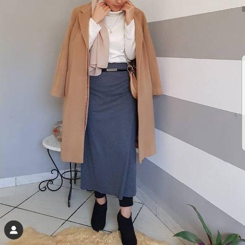 Manteau caramel