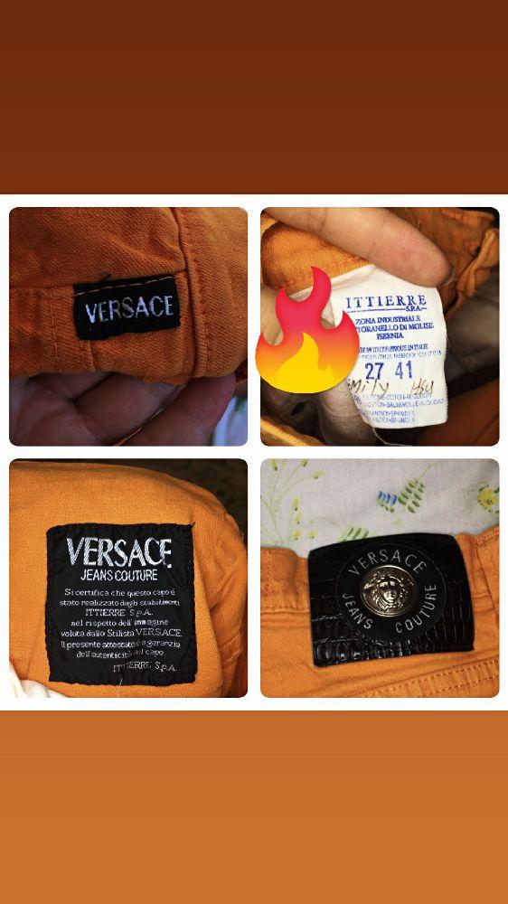 Versace mom jeans/ vintage 90s