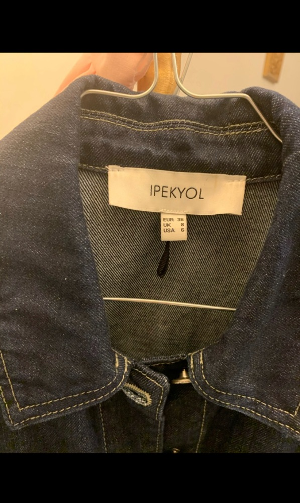 Veste Jeans tres chic tlabes S/M