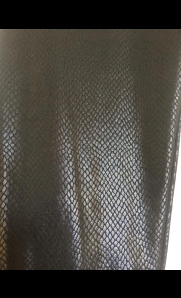 Legging noir effet Phyton