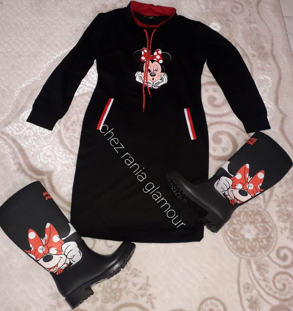 Botte minnie mouse disponible