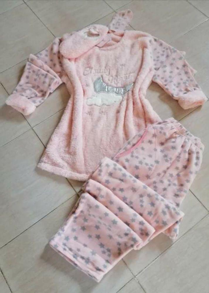 Pyjama polaire 4pcs