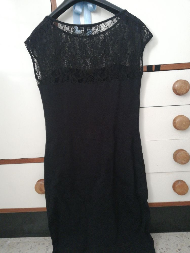 Robe noire taille s