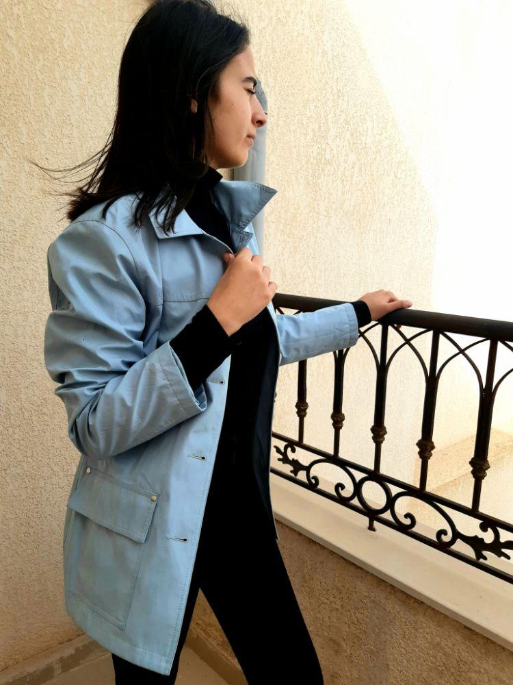 Veste imperméable (polyester) sans aucun défaut