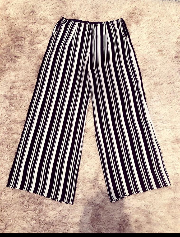 Pantalon fluide large