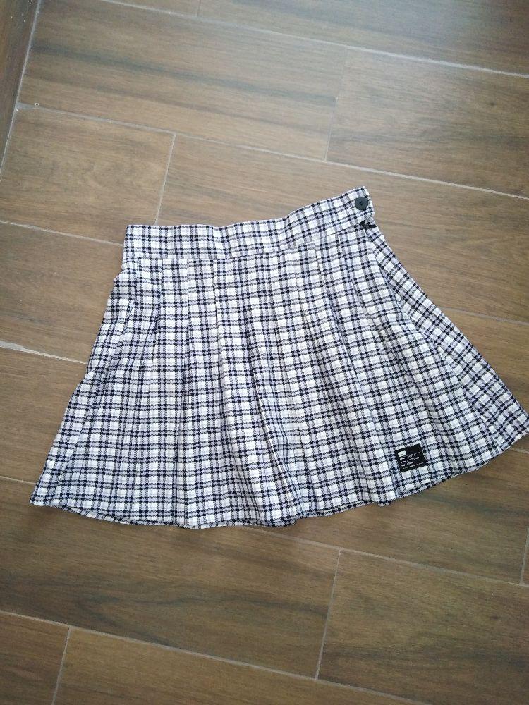 Mini Jupe plissé à carreaux très tendance taille M