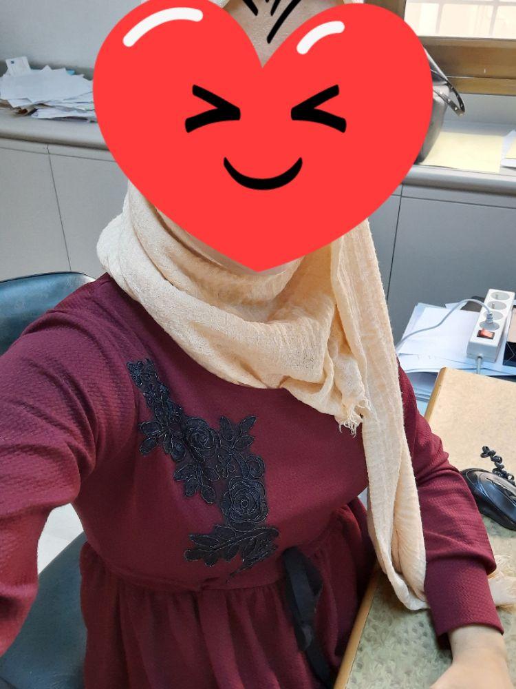 Robe très longue rouge bordeaux  taille 1