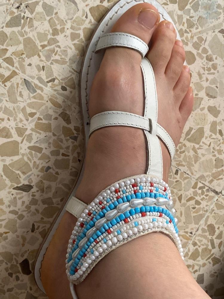 Sandale blanc
