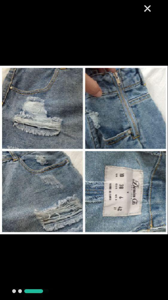 Une combishort en jean de la marque Denim Co toute neuve avec beaucoup de détails très stylée taille 38