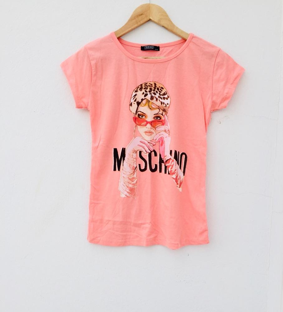 Tshirt imprimé MOSCHINO jamais porté