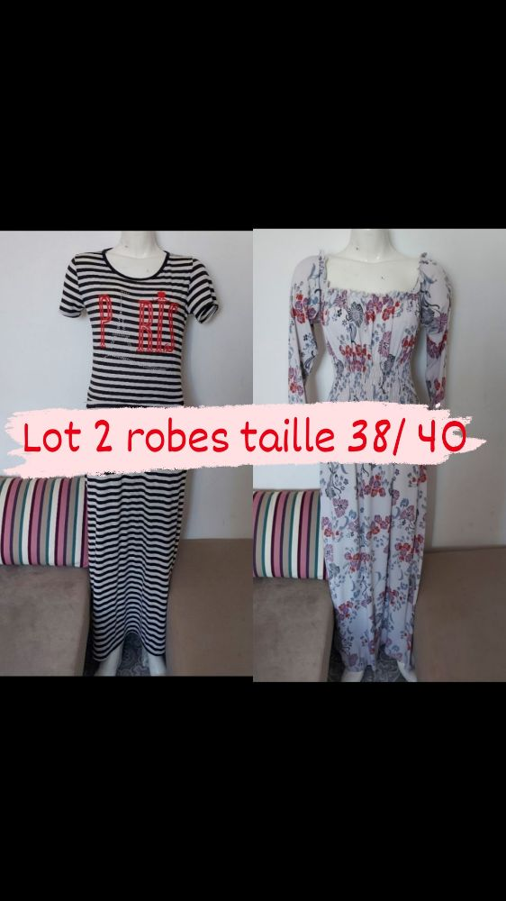 Lot 2 robes t38 / 40