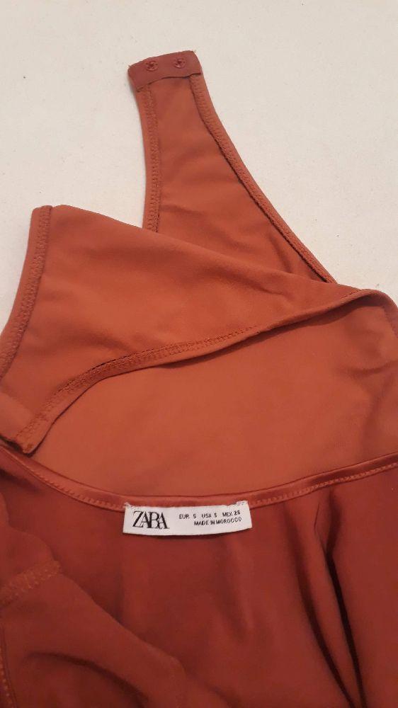Bodysuit orangé