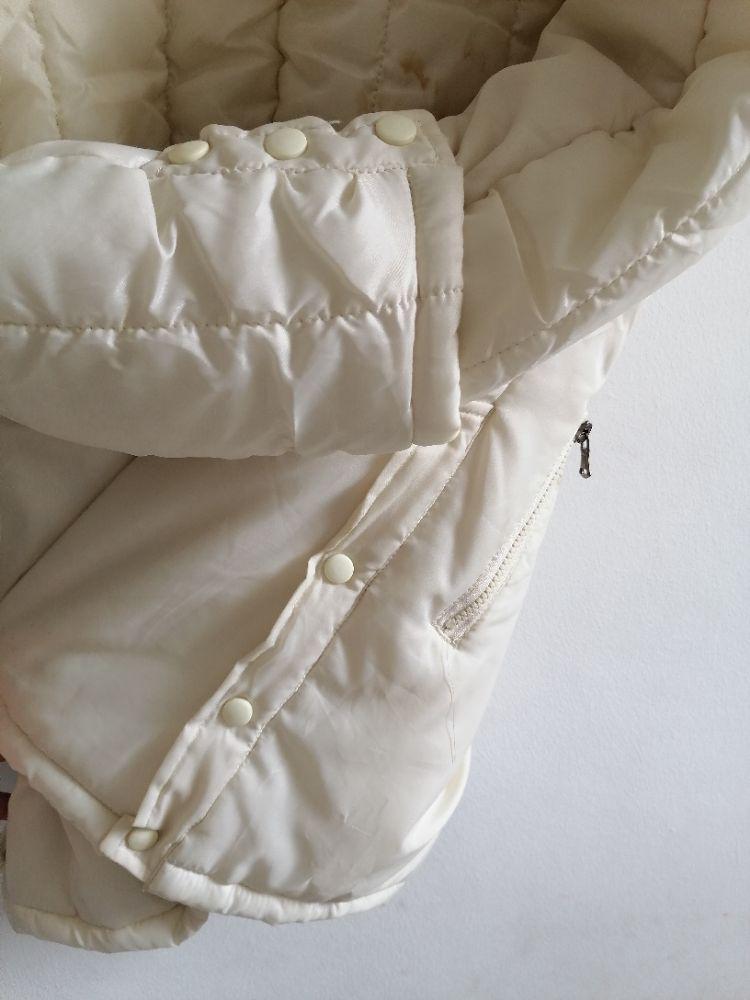 Parka bombers doudoune blanc sale