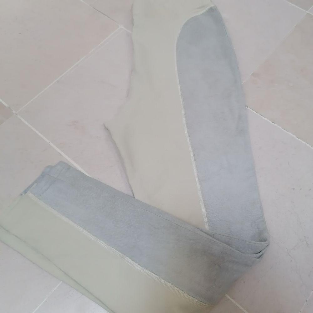 Legging beige cuir taille 42