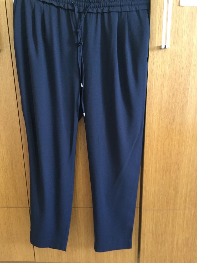 Pantalon Zara bleu marine