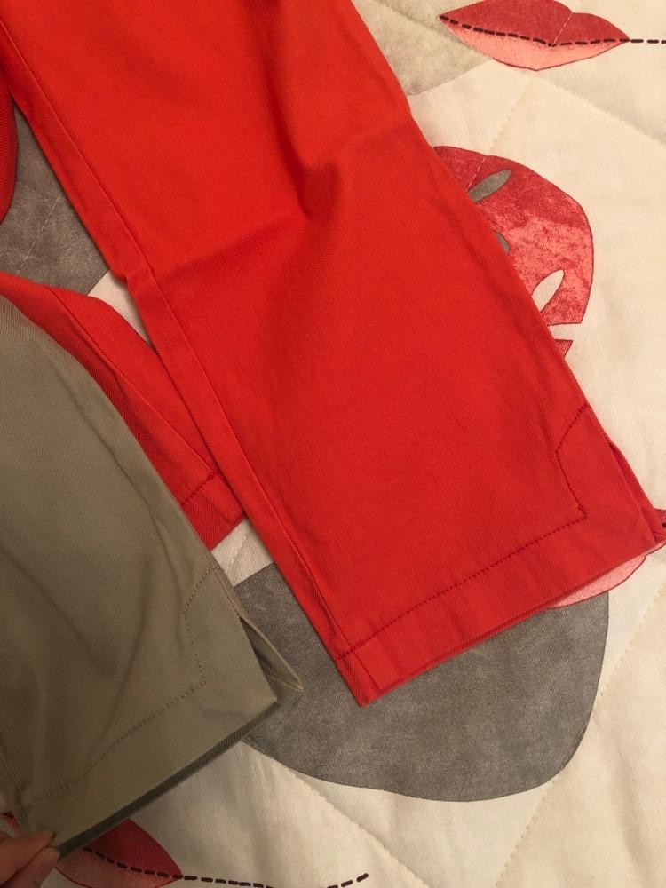 Deux pantalons Benetton