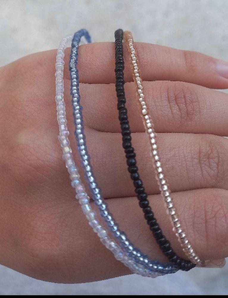 4 colliers (vous pouvez choisir vos couleurs preferees)