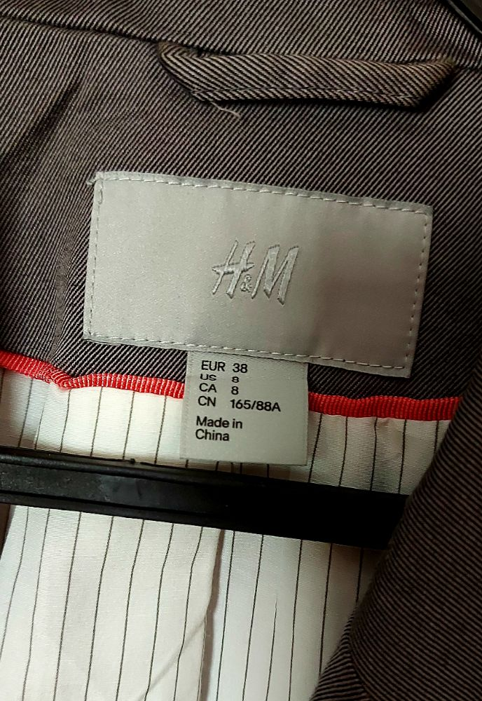 Blazer H&M classe