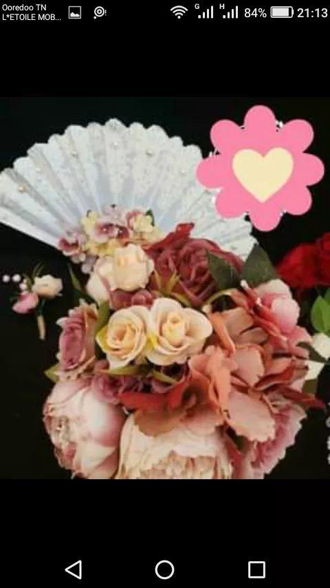 Des bouquets de fleurs artificielle pour fiançailles où mariage