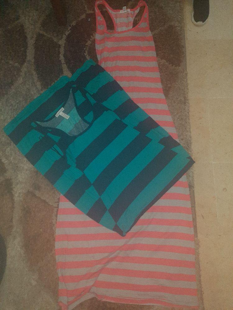 Deux robe droite