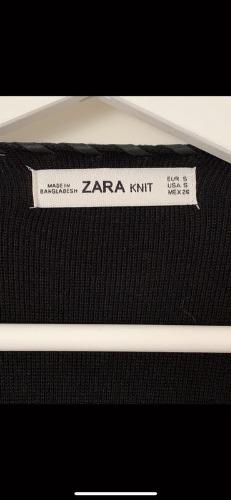 Gilet noire Zara avec franges
