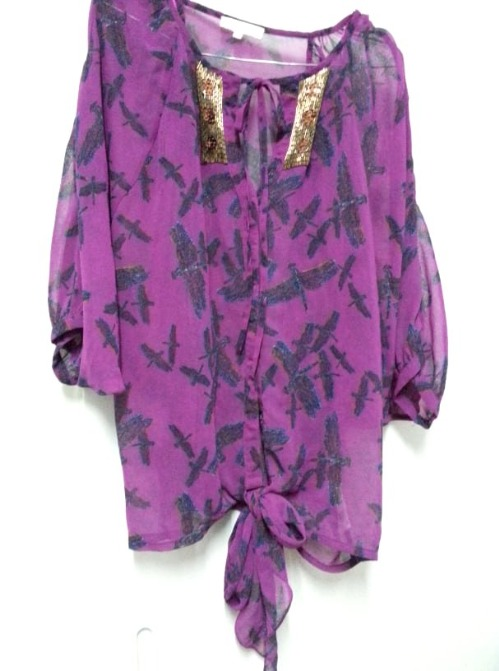 Chemise Butterfly