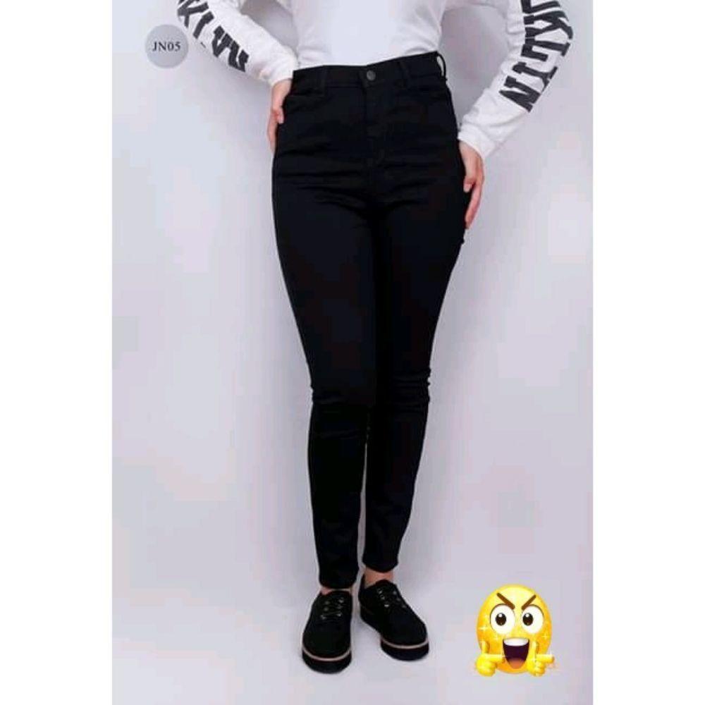 Pantalon jean noir Turque élastiqué