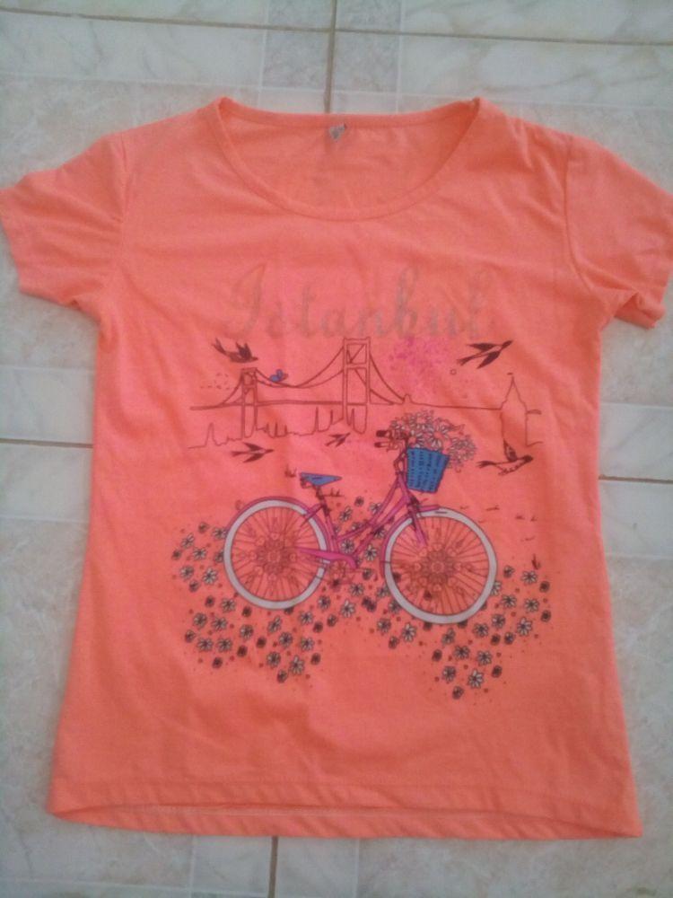 T-shirt corail turque jamais porté