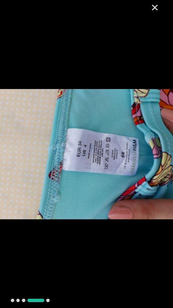 Bikini H&M couleur pastel top