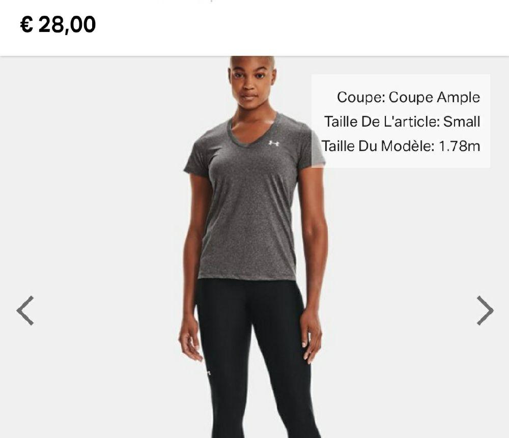 T shirt under armour