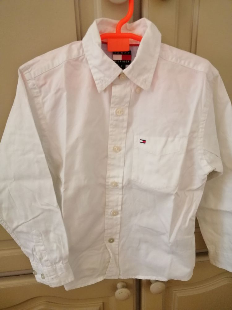 Chemise blanche tommy