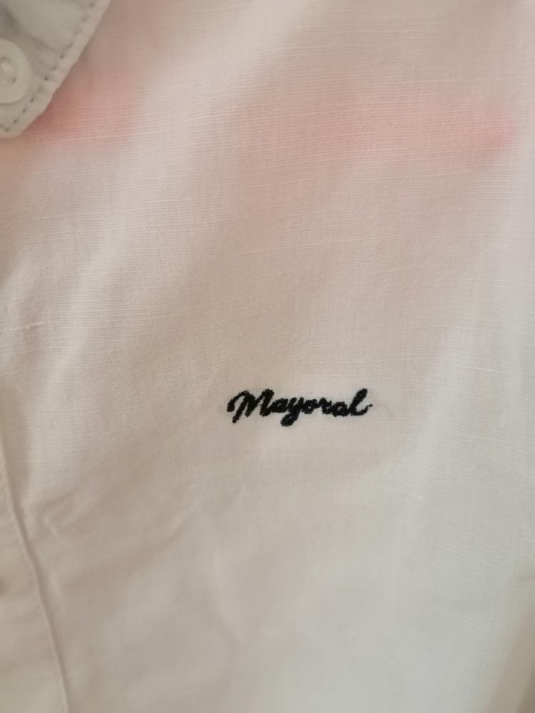 Chemise mayoral blanche