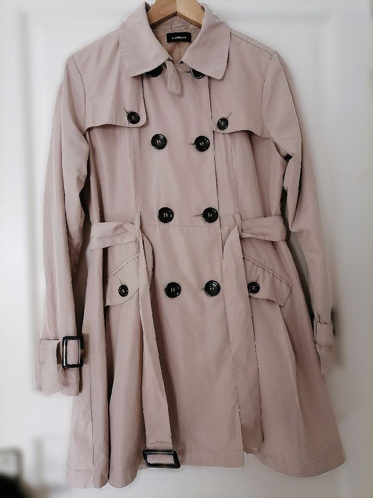 Trench coat beige motivi
