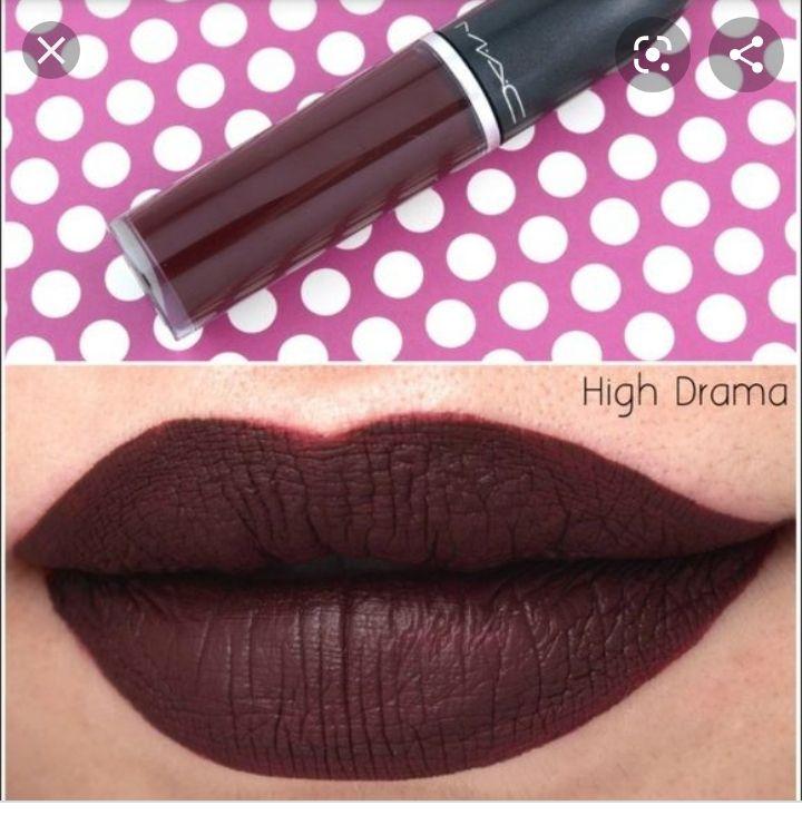 Liquid lipstick mac