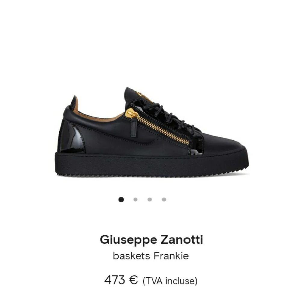 ☆Luxury frankie sneakers men Giuseppe Zanotti