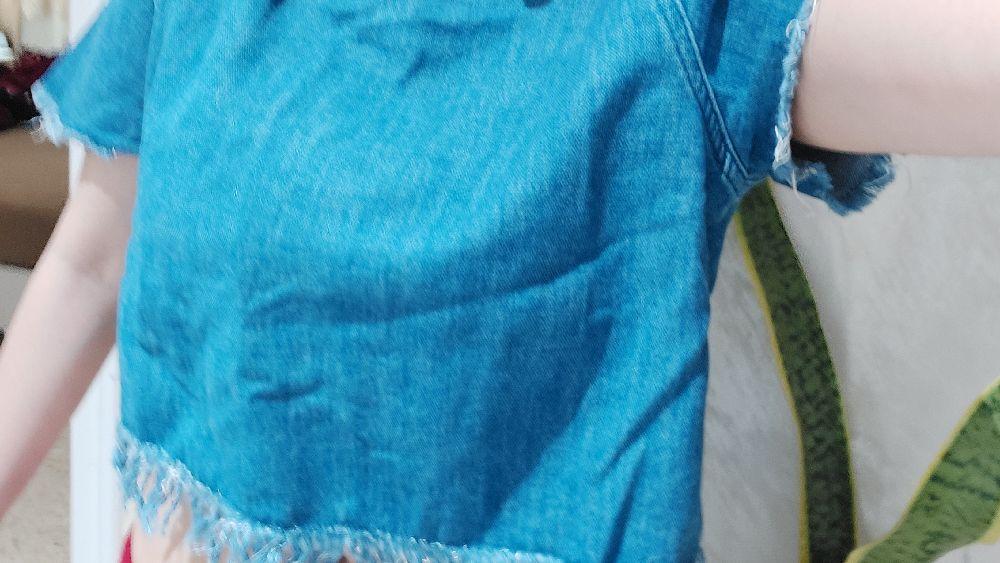 Crop top jean